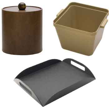 Ice Buckets & Amenity Trays