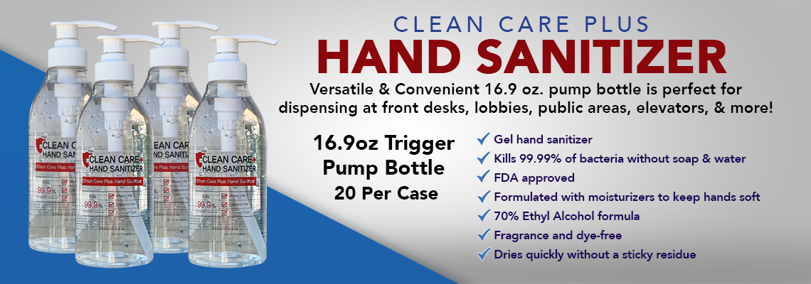 COVID-19 Hand Sanitizer In Stock