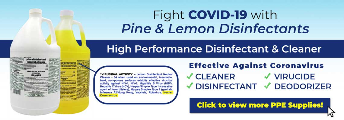 COVID-19 Q-128 Disinfectant In Stock